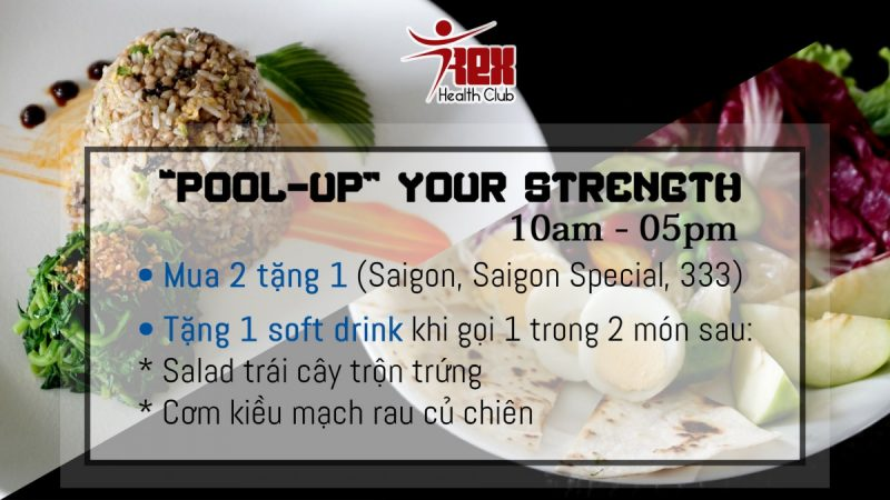 LCD cantin Pool up your strength (KM Pool th10-17)